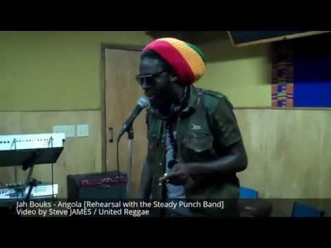 Jah Bouks Angola (Rehearsal)
