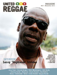 United Reggae Magazine #13 - November 2011