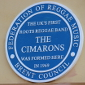 A blue plaque in London for the Cimarons