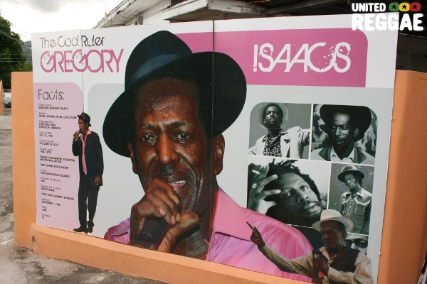 Poster on facts about Gregory, at his residence © Steve James