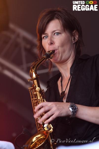 Gentleman saxophone © Paco van Leeuwen