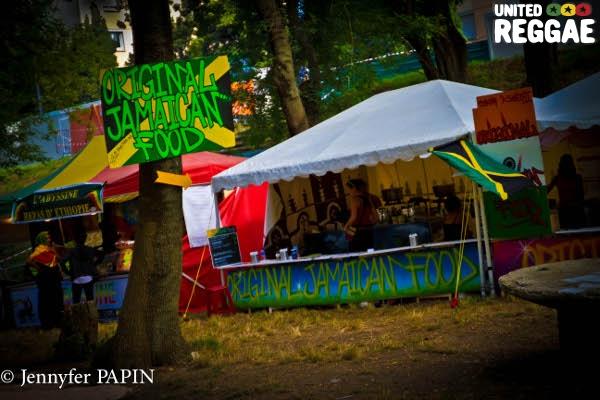 Original Jamaican Food stall © Jennyfer Papin