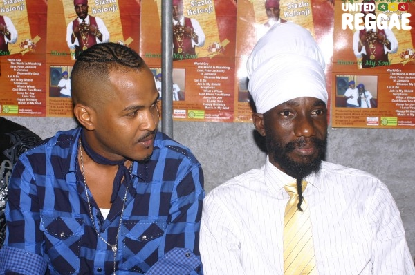John John and Sizzla © Locksley Clarke