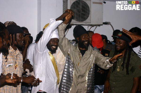 Sizzla and Capleton © Locksley Clarke