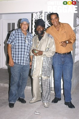 King Jammy, Capleton and Jack Scorpio © Locksley Clarke