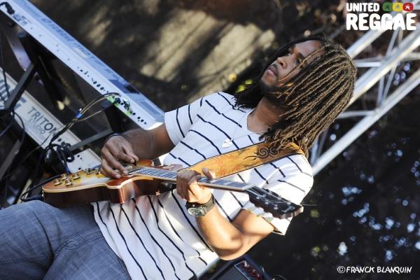 Stephen Marley backing band © Franck Blanquin