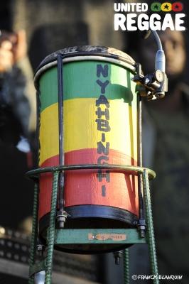 Nyahbinghi drums © Franck Blanquin