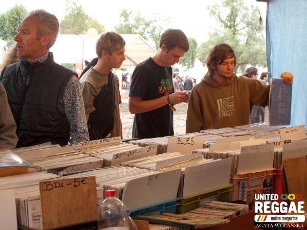 Records stall © Agatha Wolanska
