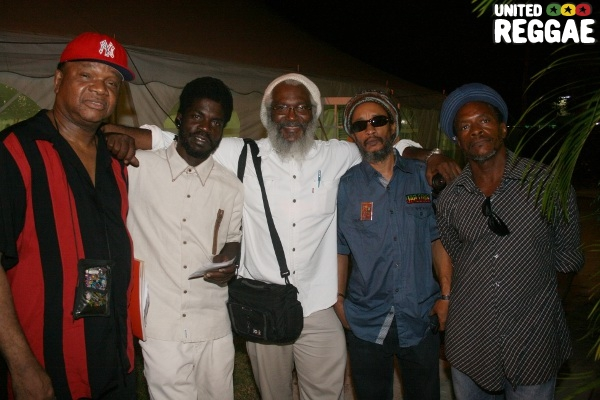 Copeland Forbes, Dave Tosh, Dr. Hutton, Stephen Tosh and friend © Steve James