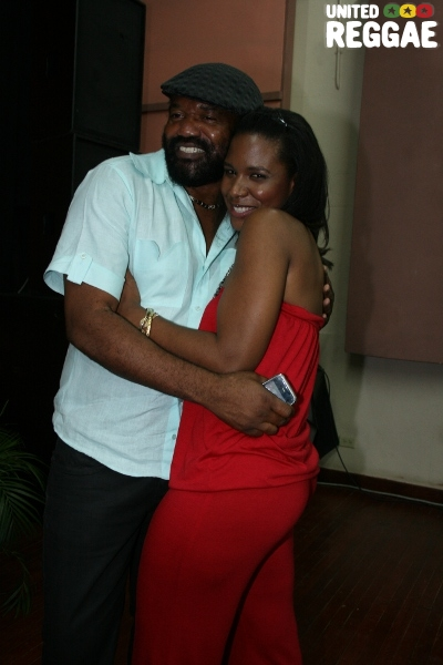 Co host Tony Rebel and Taszhna Williams © Steve James