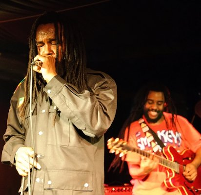 Andrew Tosh and The Rasites © Michael Grein