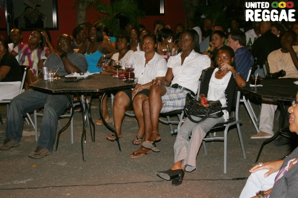 The Audience enjoying Tanya's performance © Steve James