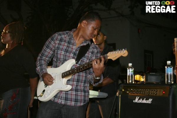 Khan, guitarist © Steve James