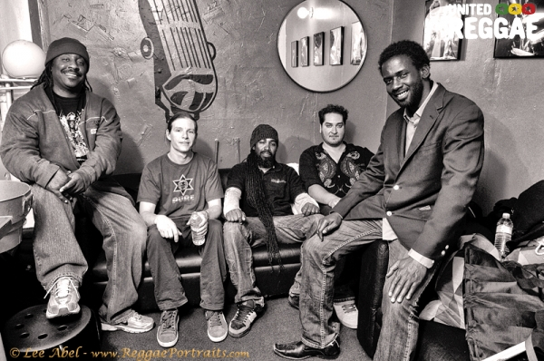 Junior Toots and band © Lee Abel