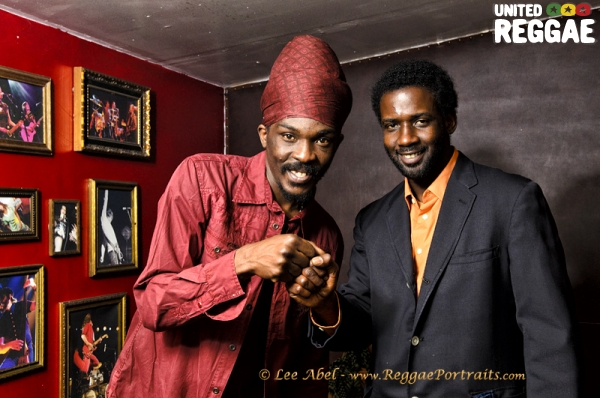 Anthony B and Junior Toots © Lee Abel