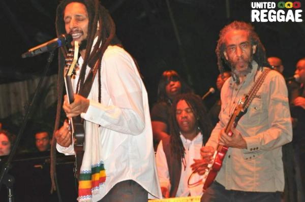 Julian Marley, Jimmy Malcolm and Bagga Trak © Gail Zucker