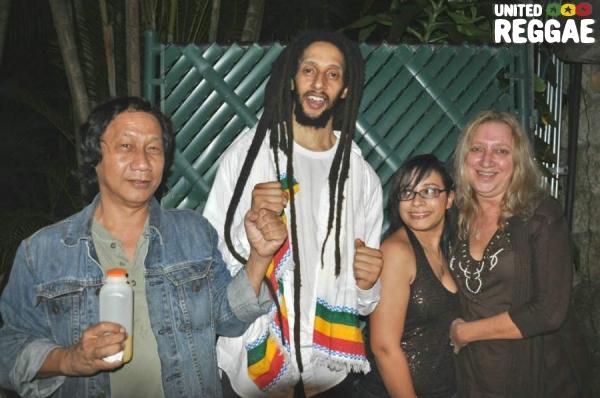Lenny Chen, Julian Marley, Sarah and Carolyn Soutar © Gail Zucker