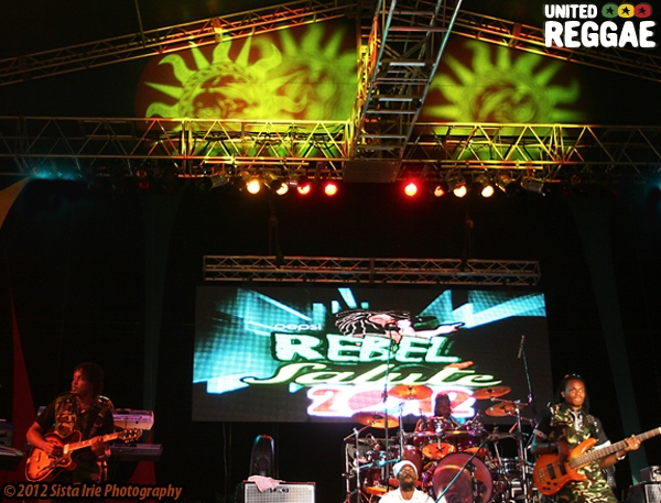 Rebel Salute Stage © Sista Irie