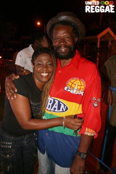 June Isaacs, wife of Gregory and Flabba Holt © Steve James