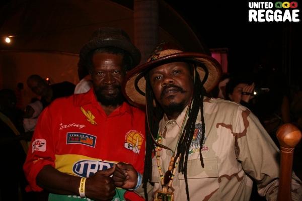 Flabba Holt and Luciano © Steve James