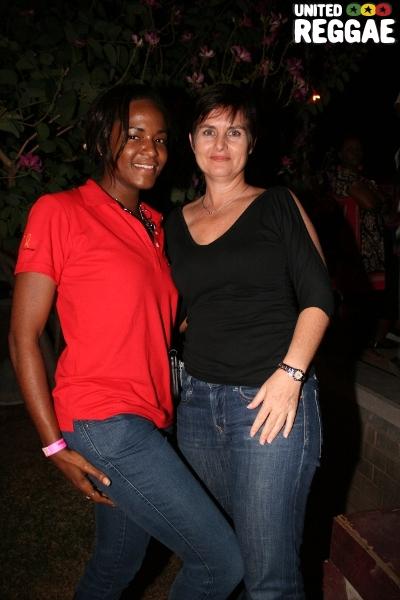 Member of JARIA, Joan Webley and Justine Henzil © Steve James