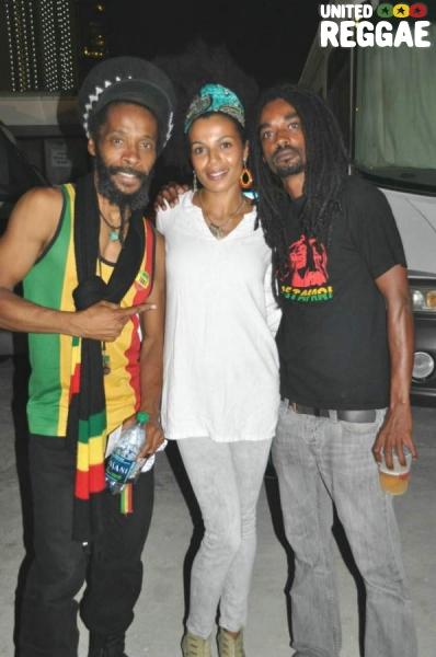 Ras I Ray, Mamadee and Born Free © Gail Zucker