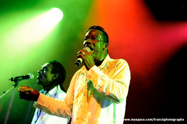 The Heptones - Leroy Sibbles & Barry Llewellyn © Franck Blanquin
