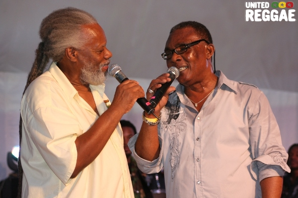 Ibo Cooper and Ken Boothe © Steve James