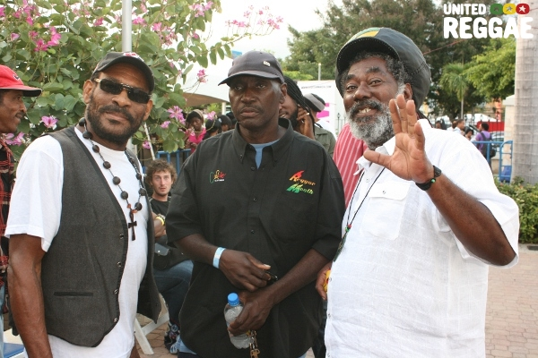 Leroy Gibbon, Jah Screw and Johnny Clarke © Steve James