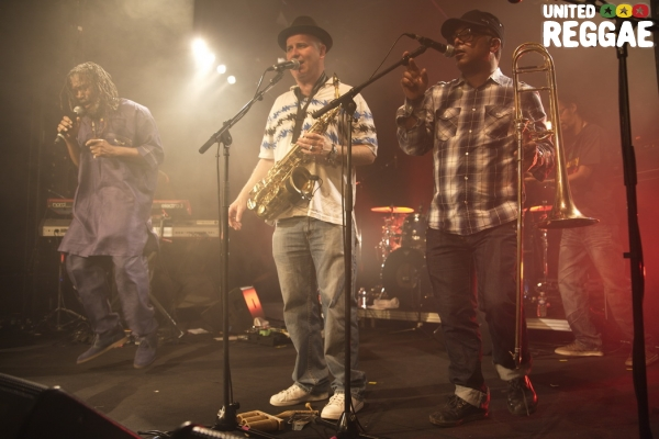 Horace Andy and the Homegrown Band © Christian Bordey