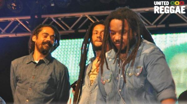 Damian, Julian and Stephen Marley © Gail Zucker
