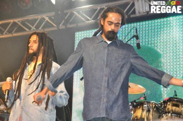 Julian and Damian Marley © Gail Zucker