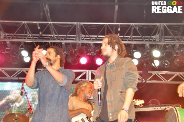 Damian Marley and Jo Mersa Marley © Gail Zucker