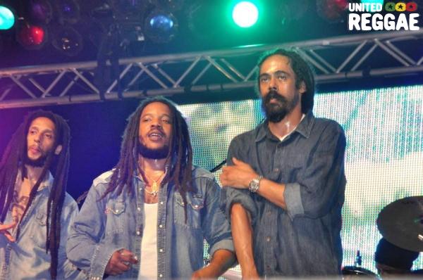 Julian, Stephen and Damian Marley © Gail Zucker