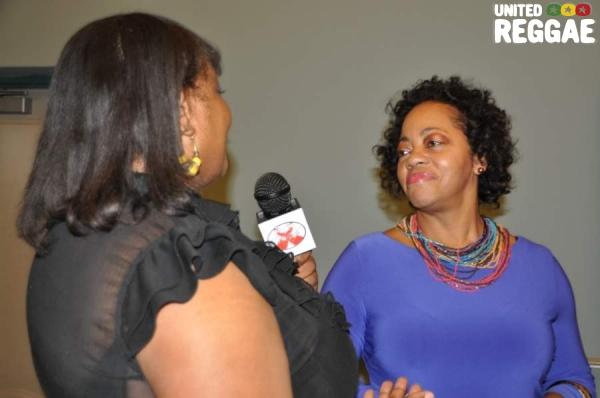 Sandra Grant Griffiths-Consulate General of Jamaica, Miami © Gail Zucker