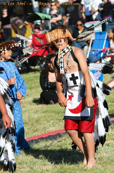 Pomo Indian Dance Ceremony © Lee Abel