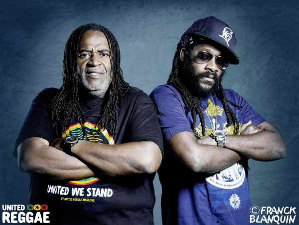 Dean Fraser and Tarrus Riley © Franck Blanquin