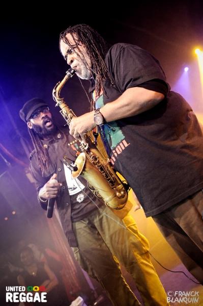 Tarrus Riley and Dean Fraser © Franck Blanquin