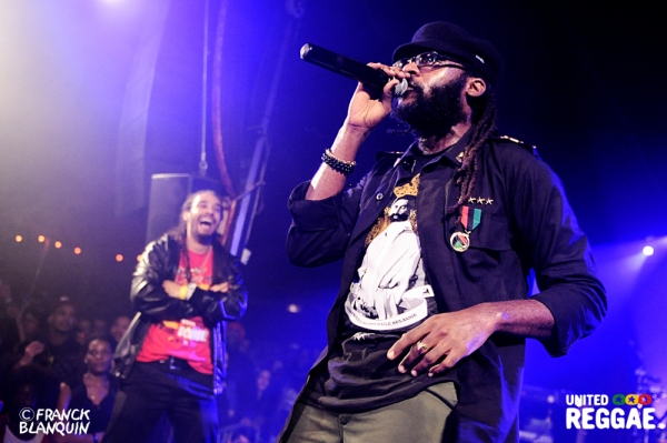 Tairo and Tarrus Riley © Franck Blanquin