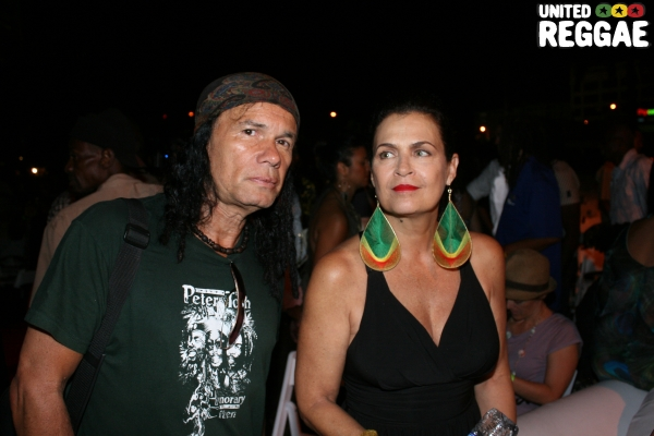 Wayne Jobson and Cindy Breakspeare © Steve James