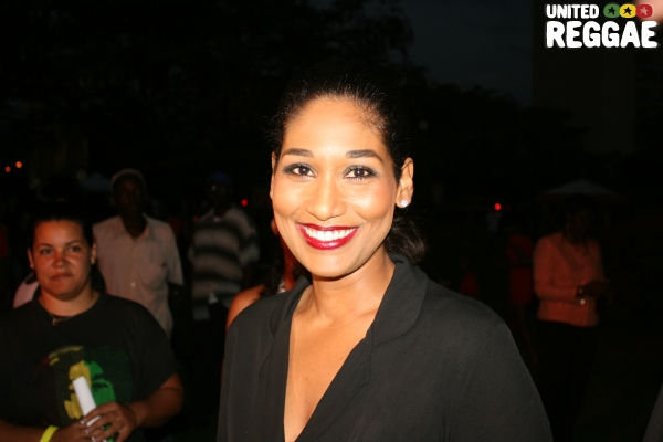 Minister of Culture, Lisa Hanna © Steve James