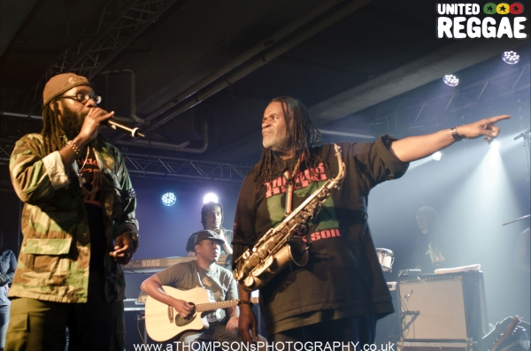 Tarrus Riley and Dean Fraser © Andrew Thompson