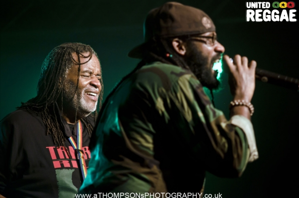 Dean Fraser and Tarrus Riley © Andrew Thompson