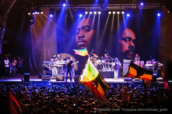 Nas & Damian Marley © Michael Grein