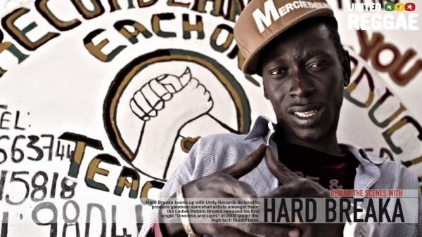 Hard Breaka at Unity Records Studio © Aude-Emilie Dorion