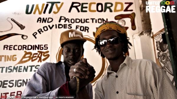 Hard Breaka and Unity Records sound engineer © Aude-Emilie Dorion