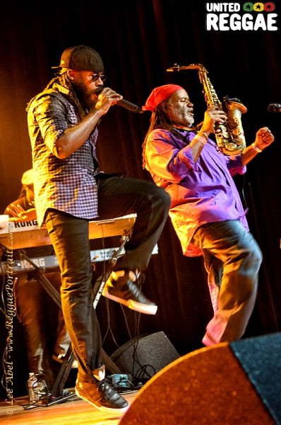 Tarrus Riley and Dean Fraser © Lee Abel