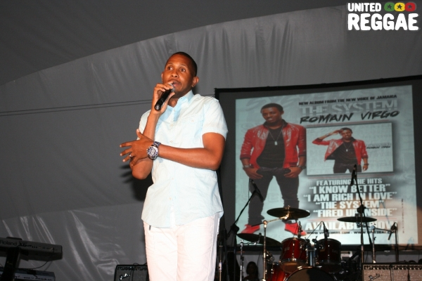 Shane Brown, Manager of Romain Virgo and Busy Signal © Steve James