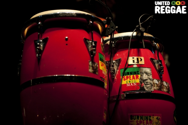 Burning Spear bongos © Michael Grein