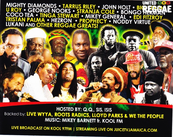 Gregory Isaacs Birthday Celebration 2012 poster